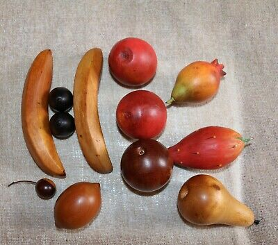 12 Piece Selection Of Faux Fruit - For Props Etc