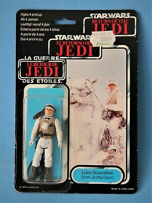 Vintage Star Wars Trilogo Meccano Luke Skywalker Hoth Battle Gear