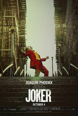 Joker Original Movie Poster DS 27x40 Double Sided