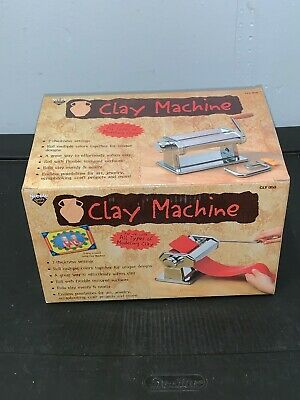 Nicole Clay Machine With Clamp  All Clays 7 Settings Softens Clay Rolls (SH5)