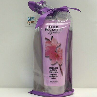 Signature Japanese Cherry Blossom Set by Body Fantasies for Women - 3 Pc Set