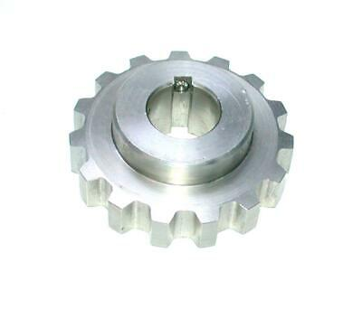 "Shamrock C1967P-03 CWC7-15-SS Stainless Steel Spur Gear 1"" Bore 15 -Tooth"