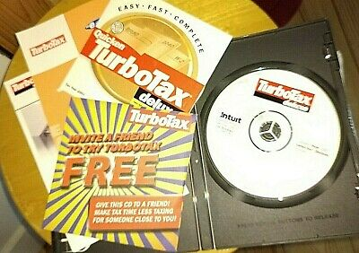 Intuit TurboTax Deluxe 2001 Federal Tax CD for Windows