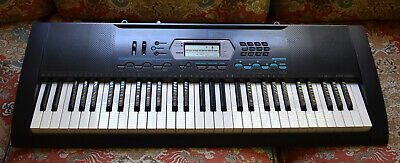Casio Electronic Keyboard 61-Key Full Size with Power Supply CTK-2100