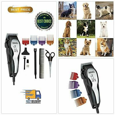 Pet Clipper Professional Electric Heavy Duty Trimmer Thick Hair Dog Grooming Kit