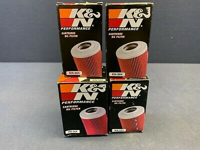 QTY 4 - Lot of K&N Performance Gold Oil Filter KN-564