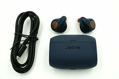 Jabra Elite Active 65t Wireless Earbud Headphones -  Blue