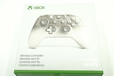 Microsoft  Xbox One Wireless Controller Bluetooth -Phantom White Model 1708