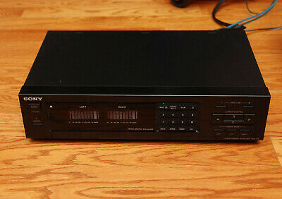 Sony SEQ-711 Equalizer -Tested Works Great  - Nice Condition