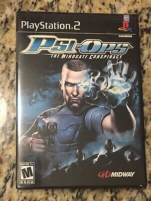 PSI-OPS - COMPLETE - Sony Playstation 2 PS2