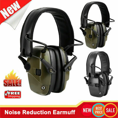 Electronic Tactic Shooting Earmuff Noise Reduction Ears Hearing Protect Ear Muff