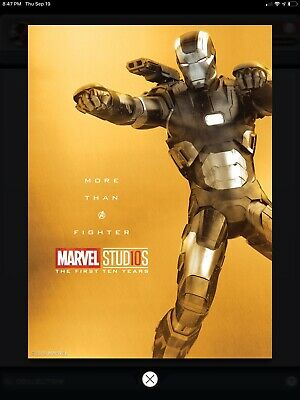 2019 Topps MARVEL COLLECT GROOT GUARDIANS THE FIRST 10 TEN YEARS GOLD POSTER
