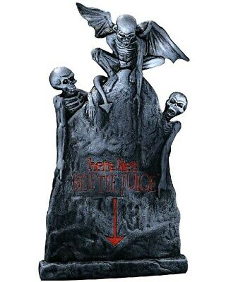 Small Beetlejuice Tombstone 50cm One Size