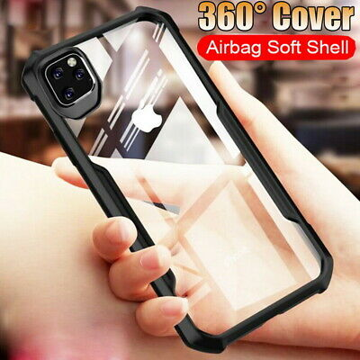 For iPhone 11 Pro Max XS XR 7 8 Shockproof Airbag Bumper Hybrid Hard Case Cover