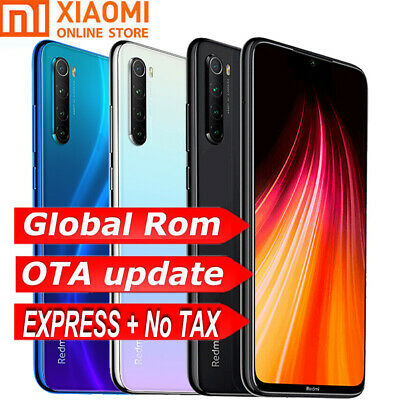 "Global Xiaomi Redmi Note 8 6,3"" 64GB 128GB Snapdragon 665 Double SIM 48MP 4G LTE"