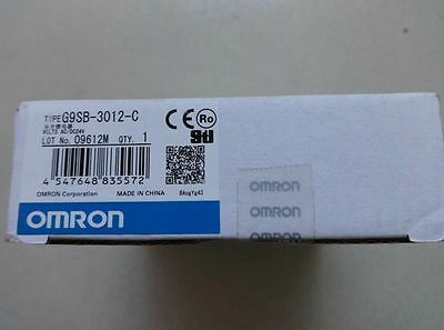 1PCS OMRON safety relay G9SB-3012-C New