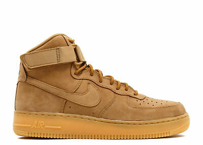 NIKE AIR FORCE 1 '07 WB FLAX PACK WHEAT excellent condition
