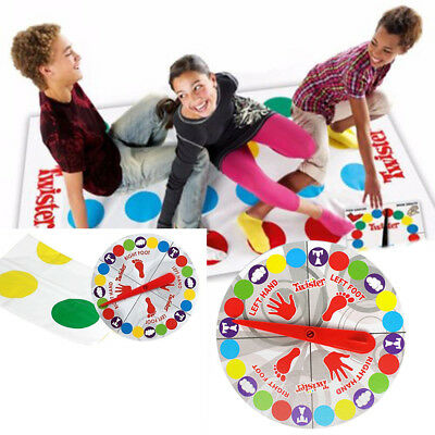 Funny Twister The Classic Family Kids Party Body Game With 2 More Moves Spot