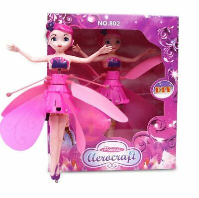Flying Fairy Magic Infrared Induction Control Princess Dolls Toy Xmas Gift