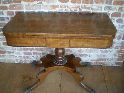 Antique Side/Hall/Card Table, Circa 1800'S