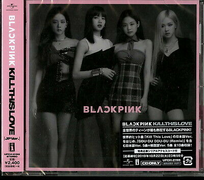Blackpink-Kill This Love -Jp Ver.--Japan Cd F30