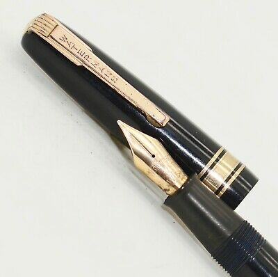 Vintage Working Watermans W5 Fountain Pen 14Ct Nib