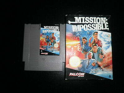 Nintendo NES - mission impossible - boxed