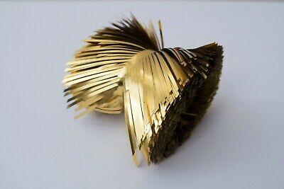 Vintage Gold Foil Christmas Decoration Tinsel Stack