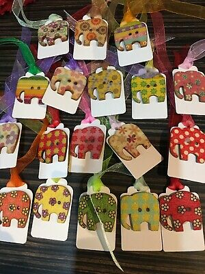 18 Elephant Gift Tags New