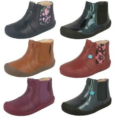 Girls Startrite Ankle Boots 'First Chelsea'