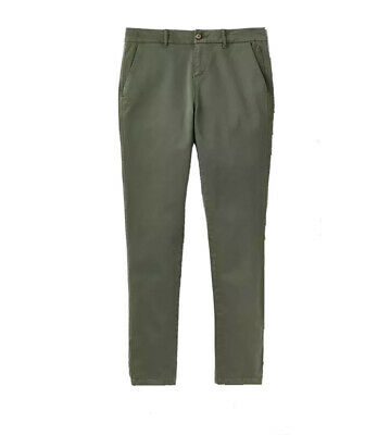 Joules Womens Hesford Green Laurel Chinos Trouser Size UK 8