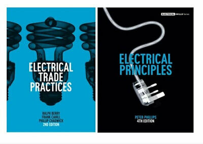 NEW Electrical Trade Practices Student Book + Electrical Principles with Online