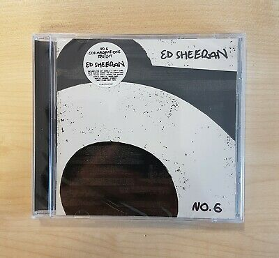 Ed Sheeran - No. 6 Collaborations Project (CD 2019)  NEW & SEALED