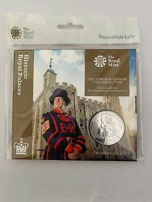 Tower Of London Five Pound £5 Coin Yeoman Warders 2019 BUNC Sealed Pack