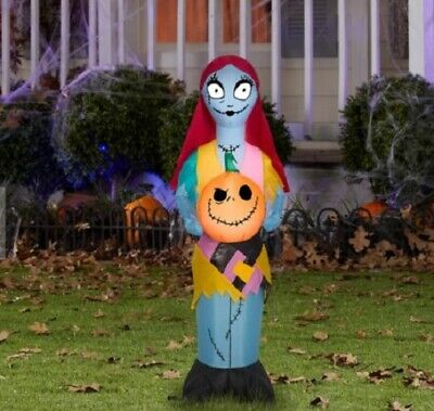 3.5 FOOT TALL--SALLY --Nightmare Before Christmas Air blown Inflatable.