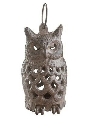 Victorian Trading Co Cast Iron Archimedes Owl Hanging Lantern