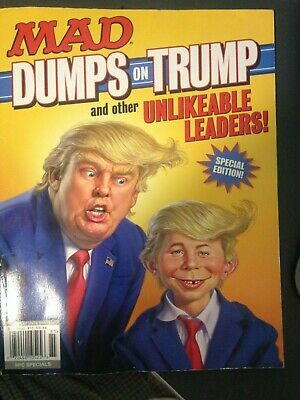 Mad (Magazine) Special Edition Dumps on Trump & Other Unlikable Leaders, 2018