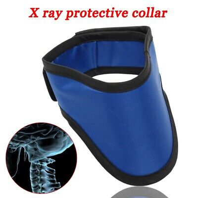 XRay 0.5mmPb Lead Protective Collar Thyroid Radiation Shield Neck Cover UK Stock