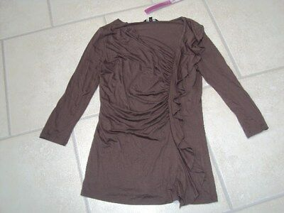 BNWTMarks & SpencerLimited Collection Khaki Top, Size 8