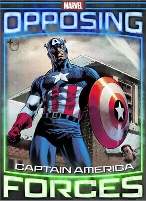 Topps Marvel Collect Digital Opposing Forces Captain America