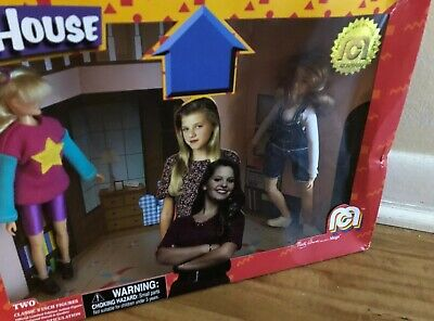 Mego Full House Action Figures DJ et Stephanie Tanner Collectible Toys limited Edition #2701