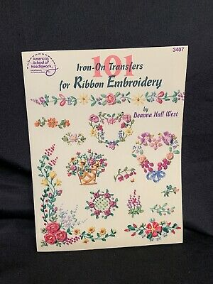 101 Iron-On Transfers for Ribbon Embroidery Pattern Book