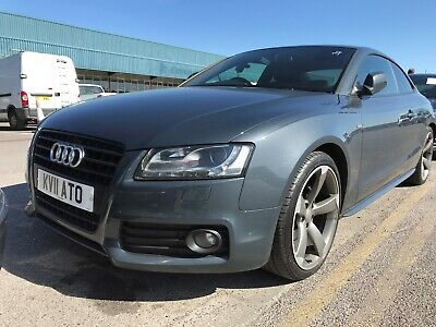 2011 Audi A5 1.8 Tfsi 160 Black Edition M-T - Satnav, Leather, Alloys, Nice Spec