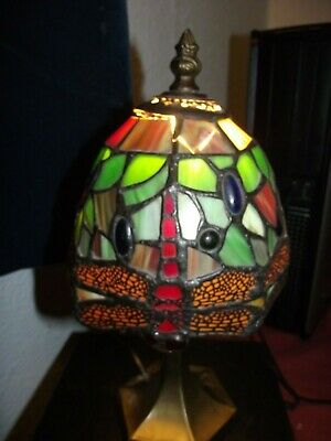 Tiffany Style Dragonfly Lamp - Preowned