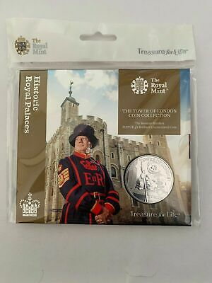 Tower Of London Five Pound 5 Coin Yeoman Warder 2019 BU Sealed Presentation Pack