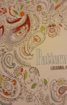 Patterns ADULT COLOURING A5 BOOK Great DESIGNS NORTH PARADE Ltd New Book
