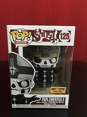 Funko Pop! Papa Emeritus II Ghost Rocks Metal Hot Topic Exclusive