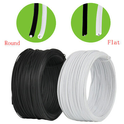 130pcs Cable Organizer Binding Packaging Wire Twist Ties White 150x2.2mm P5 P3W8
