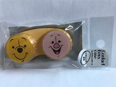 New Disney WINNIE THE POOH & PIGLET Contact Lens Case  Imported from JAPAN