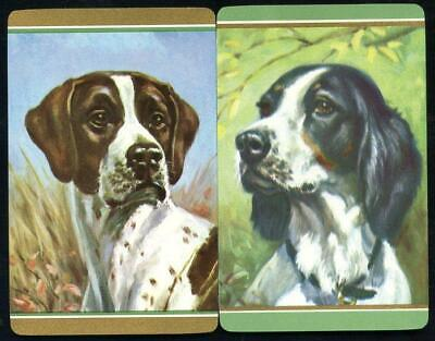 Vintage Swap Cards Dogs Hunting Dogs  New Condition